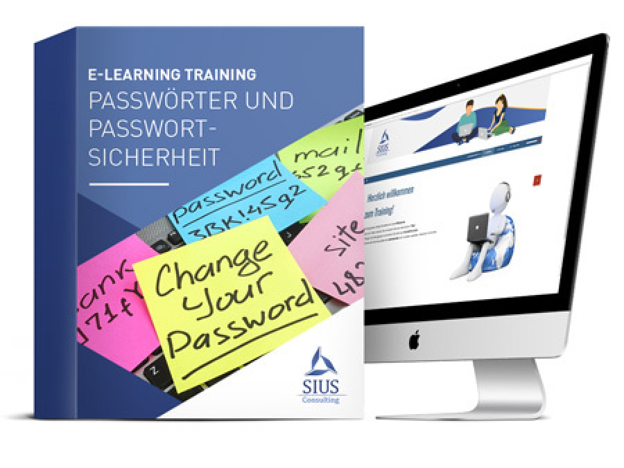 E-Learning, elearning Passwortsicherheit